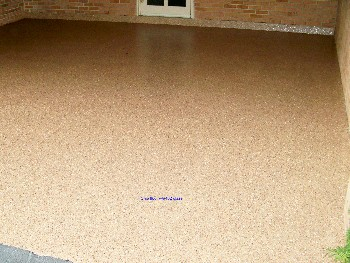 Epoxy.com Product #402 over Epoxy.com Chip Flooring